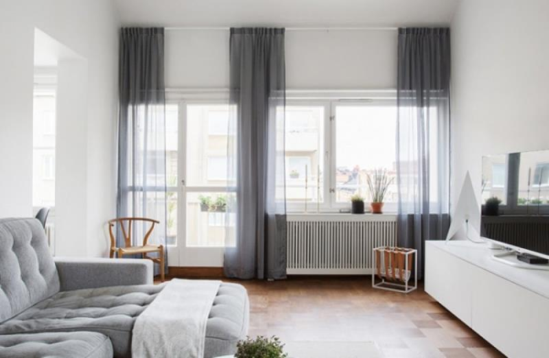 For a large window effect