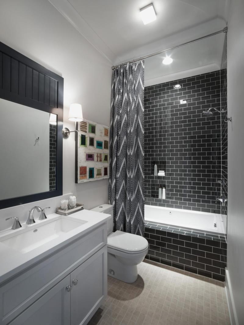 Make your bathroom look more spacious