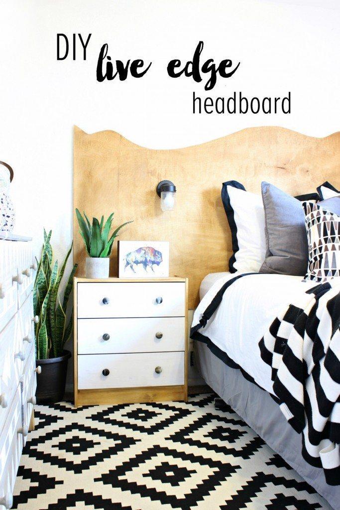 Make your own stylish headboard