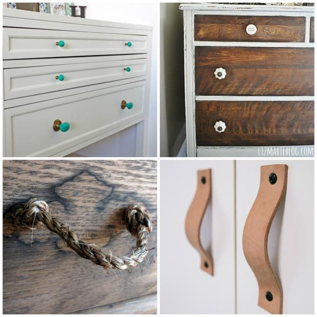New handles will refresh your cupboards