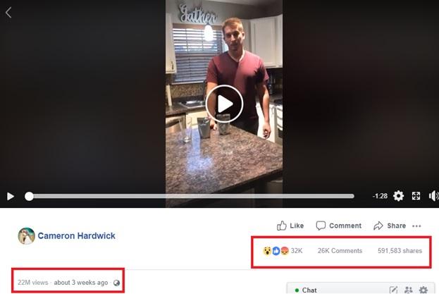 The video got viral