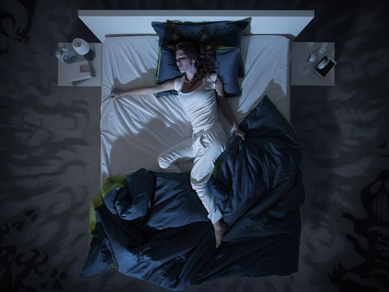 Your sleep schedule could be causing nightmares