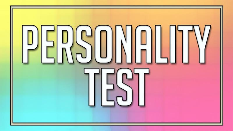 A personality test: