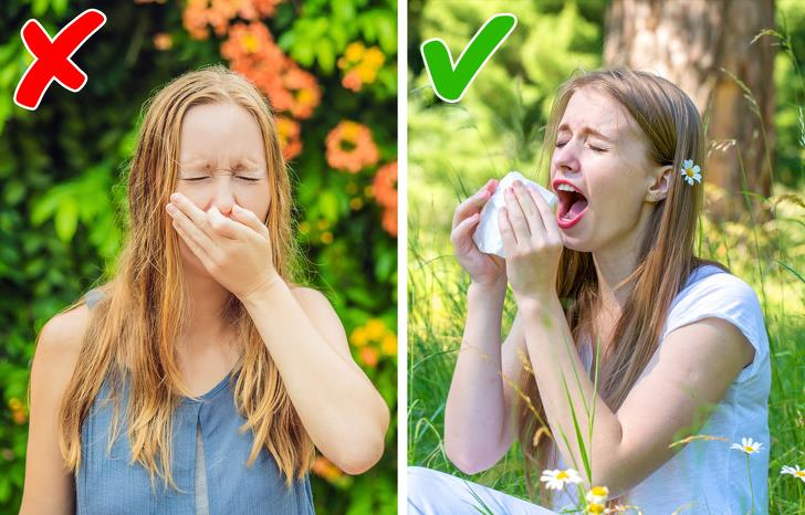 Stifling a sneeze is extremely bad for you
