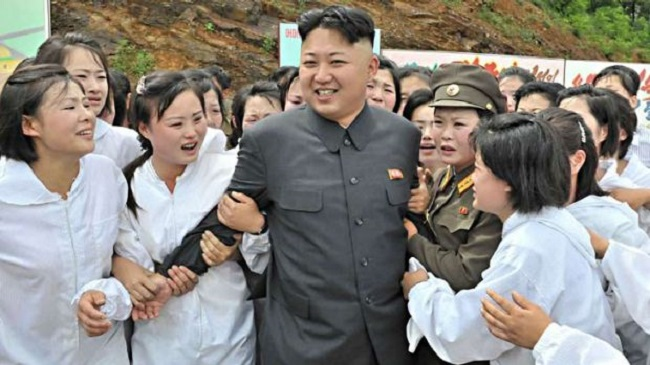 Kim Jong UN loves living lavishly