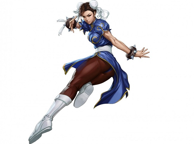 Chun Li famous for physique