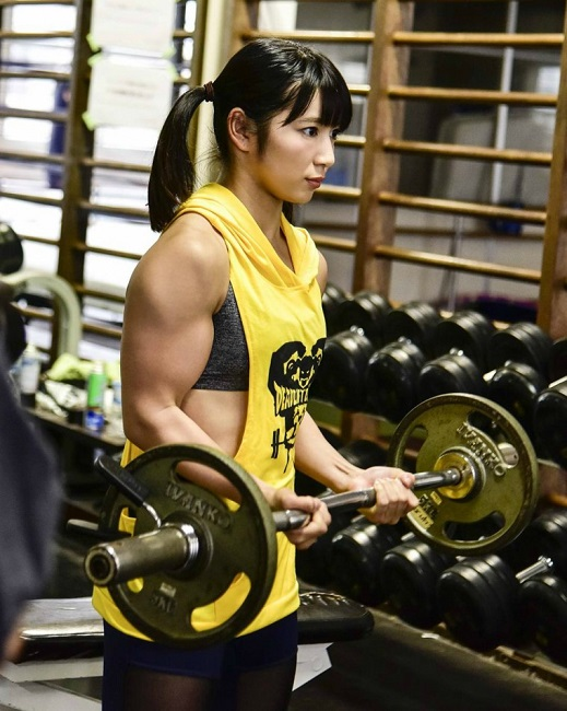 chun li gym workout