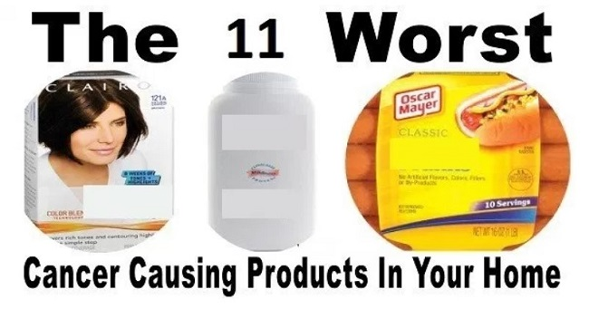 11 Cancer Causing Products Which Are Found in Your Home!