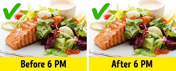 Myth 2: You should not eat past 6 P.M.