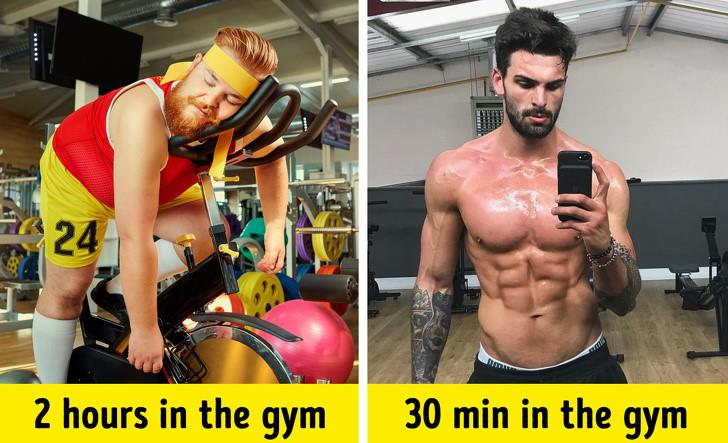 Myth 4: Spending more time at the gym will produce more results