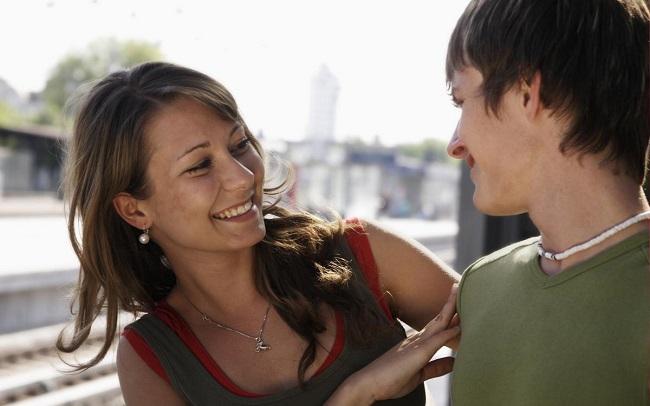 Flirtatious people