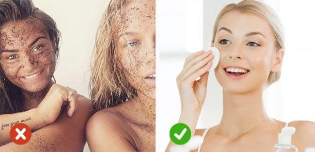 Washing Your Face with Scrubs